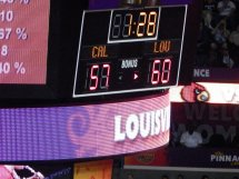 After trailing for most of the game, Louisville took the lead for good late in the second half.