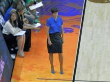 Notre Dame Coach Muffit McGraw