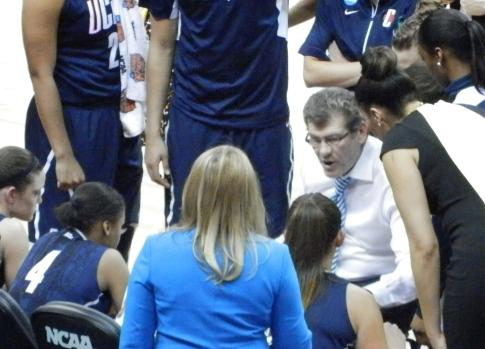 UConn Coach Geno Auriemma