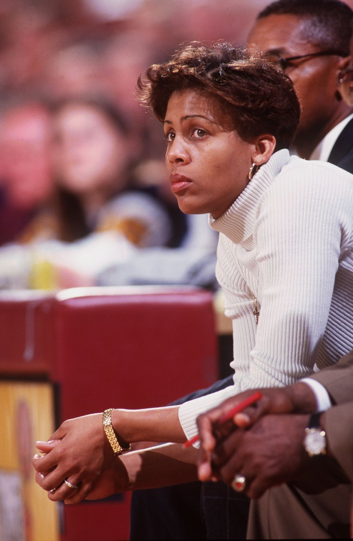 What's Cheryl Miller doing in a place like this? Learning ... Cheryl Miller
